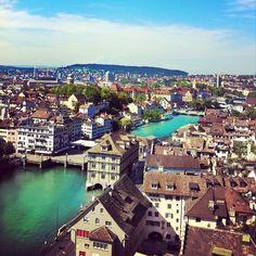 Beautiful Zurich. #Switzerland #Zurich #Travel #Photography