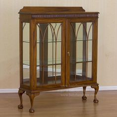 Edwardian Antique Display Cabinet Cabinets And