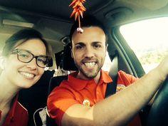 Camino a Sants-Bcn!!a recoger a Carlos, nuestro afiliado :)