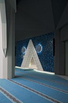Image 39 of 40 from gallery of Marmara University Faculty of Theology Mosque / Hassa Architecture Engineering Co. Mosque Architecture, Religious Architecture, Interior Architecture, Interior And Exterior, Interior Design, Ramadan, Beautiful Mosques, Prayer Room, Grand Mosque