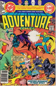 Adventure Comics 463  May 1979 Issue  DC Comics  by ViewObscura