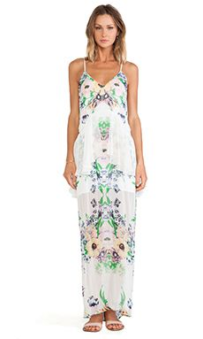 **LOVE! **Alice McCall Violet Blonde Maxi Dress in Forget Me Not - REVOLVECLOTHING
