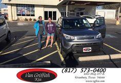 https://flic.kr/p/Fb7D8u | Congratulations Rachel on your #Kia #Soul from Kyle Kirkpatrick at Van Griffith Kia! | deliverymaxx.com/DealerReviews.aspx?DealerCode=PXVJ