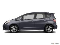 Honda Fit. I love being in my car.