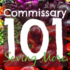 There are a lot of misconceptions about Commissaries, especially when it comes to the variety of products and the price of them. It's true, shoppers at Commissaries are able to save money, but I think a lot of people think Continue reading →