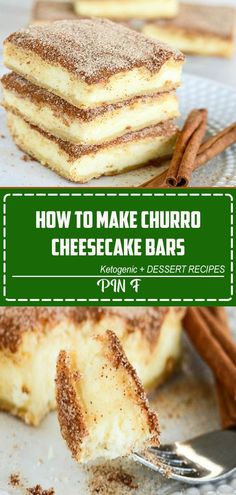 The crunchy cinnamon of churros combined with the creamy tanginess of cheesecake. Churro cheesecake bars are sure to become a favorite treat! An easy and delectable dessert recipe! #churrocheesecakebars#churrocheesecake #churro#cheesecakebars #creationsbykara#cinnamondessert