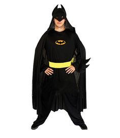 Cool Batman Cosplay Costume Masquerade Party Superman Clothes for Adult Male