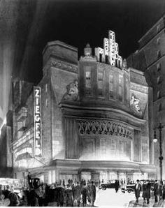 Ziegfeld Theatre, New York City - 1927  Designed by Urban and Thomas W. Lamb