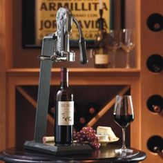 Granite Base Wine Opener $99--if we ever have a kitchen with  more counter space!
