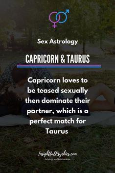 capricorn and taurus sex