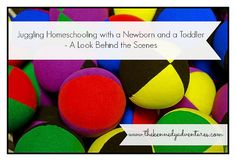 juggling homeschooling with a newborn and toddler