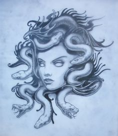 If you want to turn random people to stone, the best tattoo design for you would be a Medusa themed design. Here are some of the best tattoo designs, drawn by Red Ink Tattoos, Body Art Tattoos, Sleeve Tattoos, Medusa Art, Medusa Gorgon, Medusa Snake, Medusa Tattoo Design, Tattoo Designs, Greek Monsters