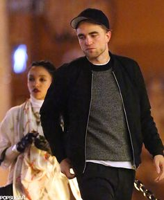 Robert Pattinson and FKA Twigs in NYC | Pictures | POPSUGAR Celebrity