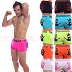 OMG I'm SO excited to wear men's boxer briefs as my booty shorts for derby! Male Underwear, Boxers Underwear, Men's Boxer Briefs, Men's Undies, Just For Men, Training Pants, Teen Boys, Fancy Pants, Gym Wear