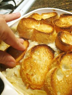 Forkable » A Favorite Thanksgiving Dish: Cheesy Onion Casserole