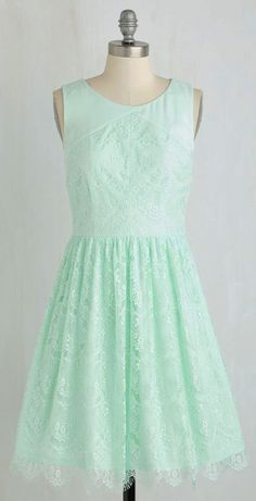 Roll in with the Punch Dress in Mint