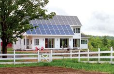 Integrated solar panels can withstand strong winds. www.atsenerji.com