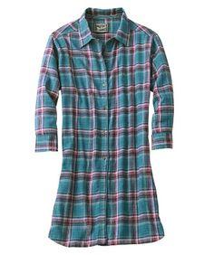 Woolrich Women`s Plaid Flannel Night Dress $21.00