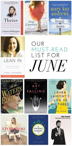 Our Must-Read List For June