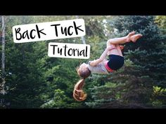 How to do a Standing Back Tuck - YouTube