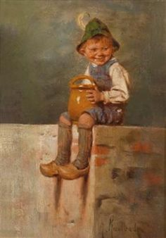 Artist Hermann Kaulbach