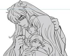 Inuyasha Fan Art, Inuyasha And Sesshomaru, Kagome And Inuyasha, Sasunaru, Me Me Me Anime, Drawing Reference, Manhwa, Sailor Moon, Otaku