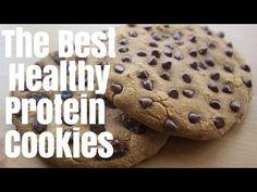 (23) HEALTHY PROTEiN COOKiES \\ LENNY & LARRYS REMAKE (VEGAN & GLUTEN FREE) - YouTube
