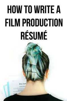Your film production resume - 10 steps to help you design your Film Resume, This post also comes with a free resume template for filmmakers. Does your film production resume pass these ten steps… Film Tips, Digital Film, Making A Movie, Film Studies, Film School, Thing 1, Classic Books, Classic Literature, Film Director