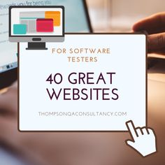 40 Great Websites to Bookmark for Software Testers – Peter Thompson, QA Consultancy Resume Software, Software Testing, Program Management, Risk Management, Accounting Exam, Website Software, Top Reads, Great Websites, Portfolio Management