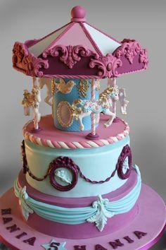 carousel cake - Buscar con Google