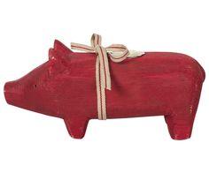 Maileg Schwein Rot Medium