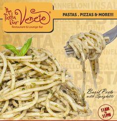 Basil Pesto with Spaghetti...
