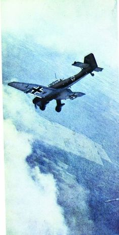 Here Comes the Luftwaffe_Ju 87 entering dive~ BFD