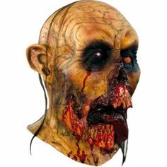 Scary Halloween Zombie Mask Zombie Latex Mask Tongue Halloween Mask Rare Edition…