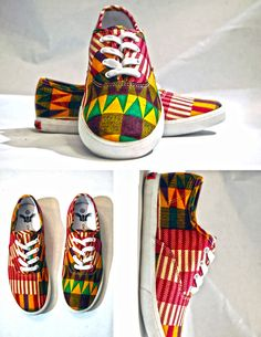 Ohema Ohene OH! Classic Kente African print shoes