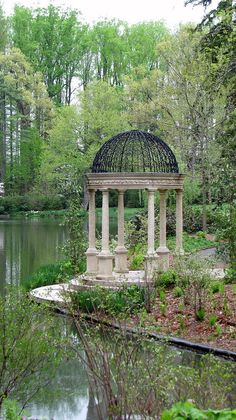 Longwood Gardens Gazebo II Photograph by Sheila Rodgers - Longwood Gardens Gazebo II Fine Art Prints and Posters for Sale