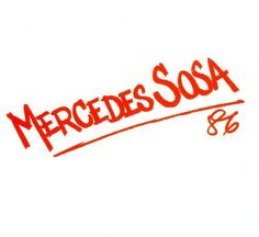 Mercedes Sosa '86 [CD]