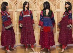 antique Vintage afghanistan Nuristan nomadic Kuchi ethnic traditional dress costume