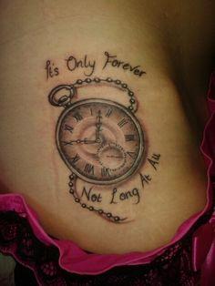Tattoos on Pinterest | Pocket Watch Tattoos, Clock Tattoos ... Labyrinth Movie Quotes Tattoos