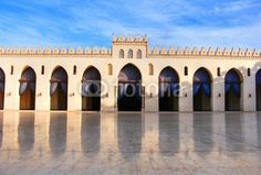 Mosques & Pillars / historical islamic architecture mosques © bassemadel #58976515 - http://us.fotolia.com/id/58976515/partner/203628050