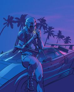 Featured Graphic Artist — NewRetroWave | Stay Retro! | Live The 80's Dream! |