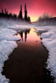 melinore:  Winter sunset