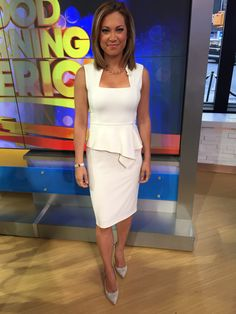 I bought this dress at @bcbgmaxazria , I bought the shoes on Rue Lala - they are @ivankatrump