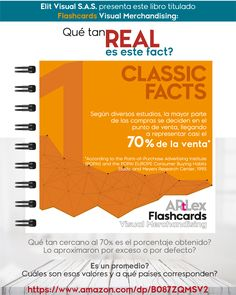 """Libro FLASHCARDS VISUAL MERCHANDISING, del autor #Artlex_. """"El fact más promocionado, pronunciado y reconocido en el mundo del retail, y que además es tomado como verdad o dogma por todos los que trabajamos en el comercio minorista, en administración, category, operaciones, diseñadores de espacios comerciales o visual merchandisers.  -El estudio fue realizado en Europa por la compañía mencionada en la ficha en el año de 1995. -El fact real es el promedio del resultado obtenido en cada… Visual Merchandising, Display, Truths, Glass Display Case, World, Retail Space, Spaces, Index Cards, Parts Of The Mass"""