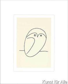 Pablo Picasso - Die Eule