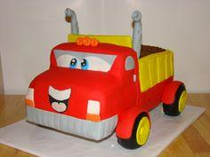 Chuck the Truck Birthday Cake