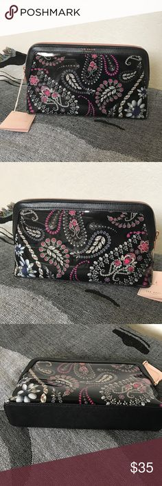 TED BAKER TREASURED TRINKETS LARGE WASH BAG NWT Ted Baker Bags Cosmetic Bags & Cases