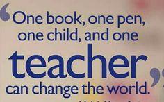 World Teacher Day, World Teachers, Change The World, Books, Libros, Book, Book Illustrations, Libri