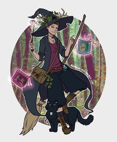 Witchsona Art Print by Brenna-Ivy - X-Small Fantasy Witch, Witch Art, Fantasy Art, Witch Characters, Fantasy Characters, Pretty Art, Cute Art, Character Creation, Character Art