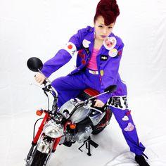 Kyary Pamyu Pamyu motorbike motorcycle